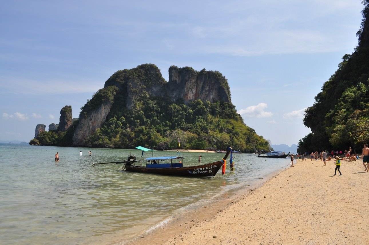 Railay Beach Boat Trip  Nothing But Blue Skies