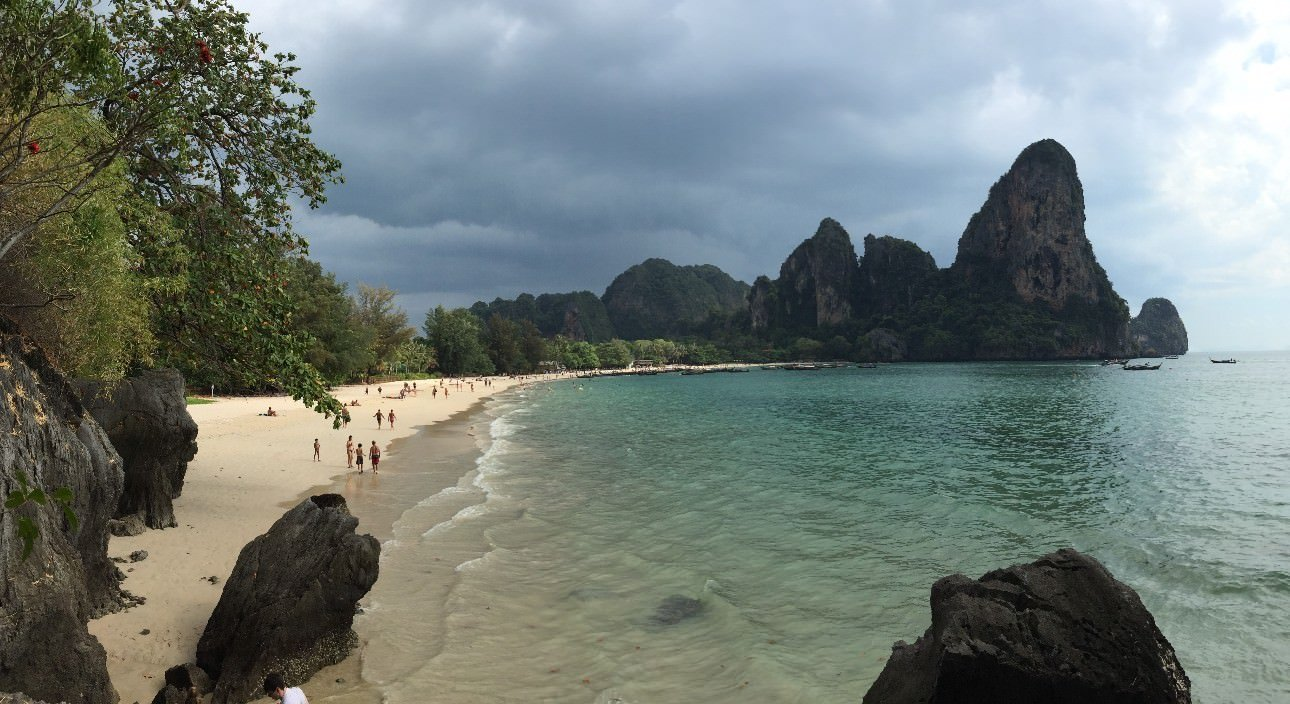 Railay Beach  Nothing But Blue Skies