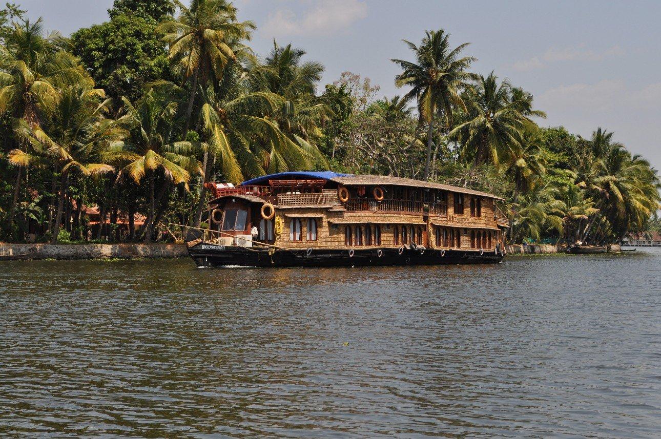 Kerala Backwaters Nothing But Blue Skies