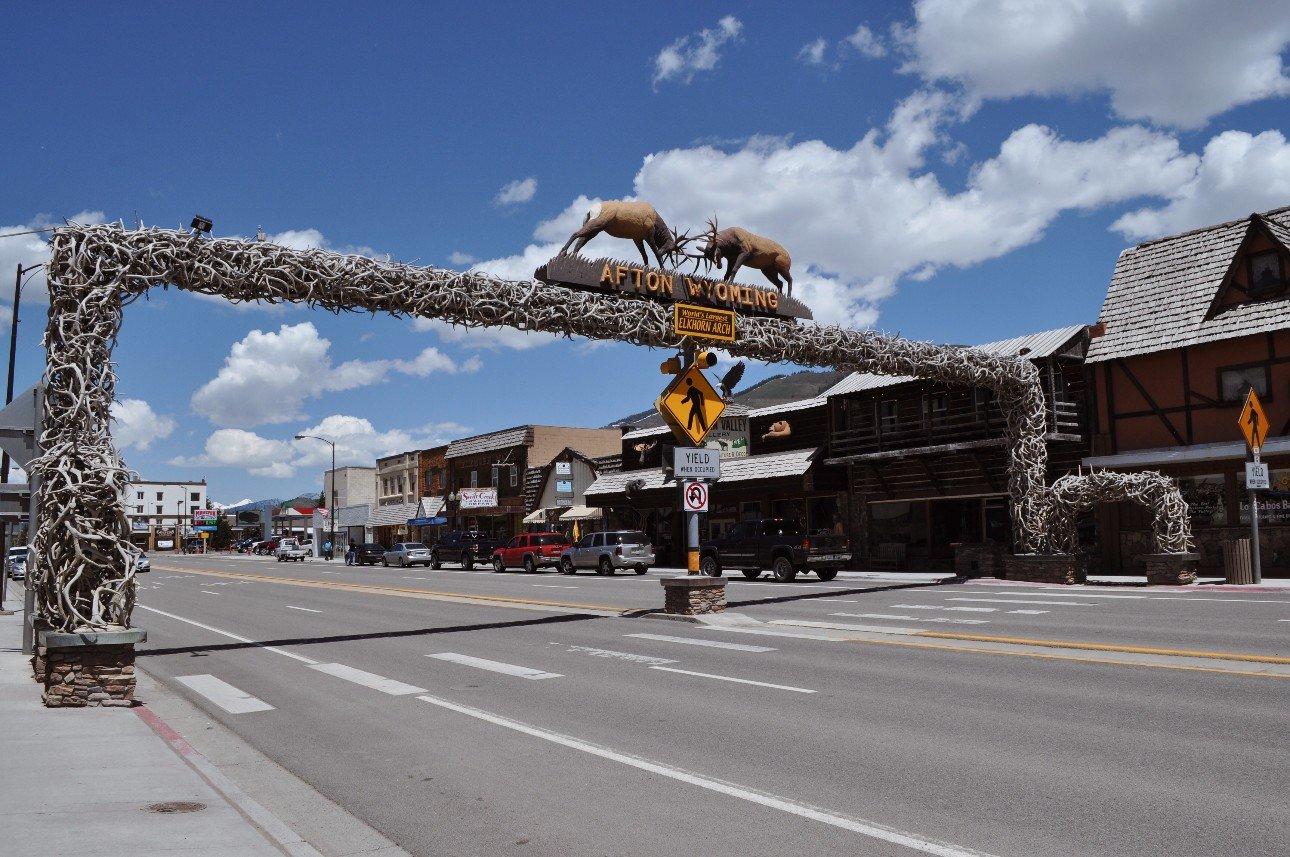 Salt Lake City to Jackson Wyoming