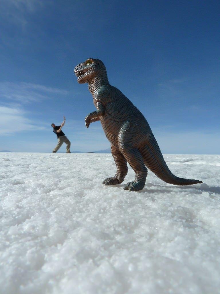 Salt Flats Dinosaur