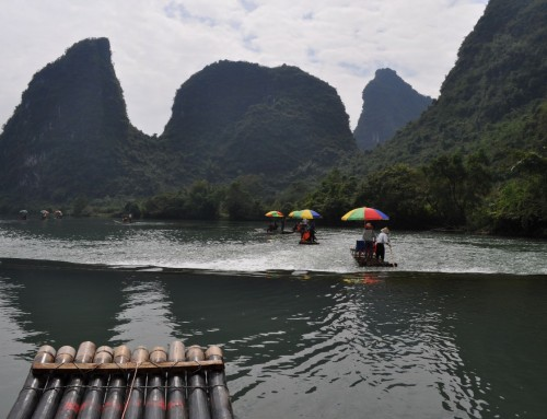Yulong River Bamboo Rafting